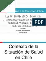 J Macaya - Ley Derechos y Deberes de Los Pacientes 2012