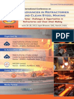 Advances in Refractories and Clean Steel Making