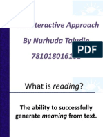 Interactive Approach Notes