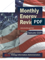 Monthly Energy Review Feb 2009