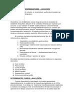 DETERMINANTES DE LA OCLUSIÓN