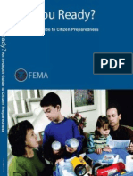 DISASTER Are You Ready, A Guide to Citizen Preparedness R20070725F