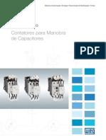WEG Cwmc Contatores Para Manobra de Capacitores Catalogo Especifico 50041772 Catalogo Portugues Br