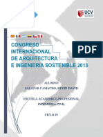 Congreso Internacional de Arquitectura e Ingenieria Sostenible