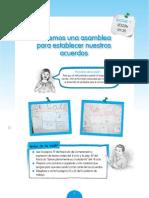 RUTAS DEL APRENDIZAJE 2014 - Modelo de sesión de aprendizaje