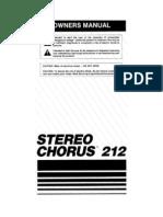 Peavey Chorus 212