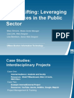 Heavy Lifting Leveraging Resources in the Public Sector
