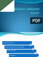 Langkah Langkah Audit