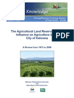 ALR and Influence on Ag in Kelowna