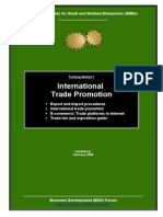 Trainingmodule 7 International Trade