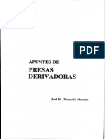 Apuntes de Presas Derivadoras Ocr PDF