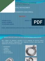Análisis de fallos en componentes mecánicos