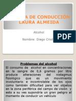 ESCUELA DE CONDUCCIÓN el alcohol