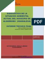 Informe Tecnico Ambiental de Algarrobo Magdalena