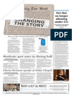 The Daily Tar Heel for April 16, 2014
