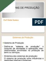 UNIDADE II - SISTEMAS DE PRODUÇÃO