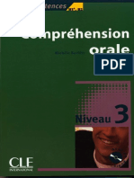 0351303 723E4 Barfety Michele Comprehension Orale Niveau 3 b1 b2