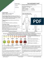 Pain Assessment Form