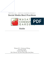 social media best practices guide draft 3 e-newsletter portion