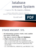 Database Management SystemD2