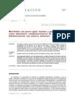 MOVILIDAD CON PERRO GUIA Y BASTÓN