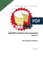 cakePHP Cookbook