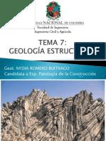 7. GEOLOGIA ESTRUCTURAL