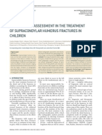 Radiographic Assessment in the Treatment of Supracondylar Humerus Fractures in Children. 2012