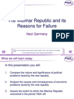 2. the Weimar Republic and Its Reasons for Failure