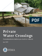 Private Water Crossing