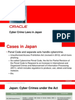 Cyber Crime Laws Japan