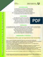 1. Compromiso Ético con la Ingeniería Civil Sostenible