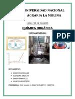 INFORME QUIMICA ORGANICA 3