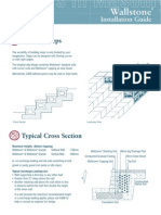 Wallstone installation Guide