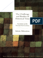 MÉSZÁROS, István. The Challenge and Burden of Historical Time