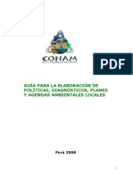 Guia Para Elaoracion de Politicas, Diagnosticos Planes y Agendas Ambientales
