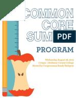 Common Core Standards Program