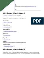 Al Miqdad Bin Al Aswad