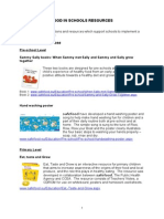 Food in Schools Resources - Curriculum Resources - May 2013 (1)