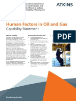 Atkins Human Factor Oil and Gas