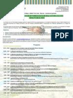 CEMA Torre Guil. Murcia. Jornadas sobre depuración del agua y conservación de la Malvasía Cabeciblanca en la Región de Murcia. Mayo 2014