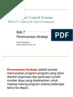 Bab 7 Perencanaan Strategi