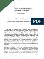 D.berger, Sobre El Tomismo Per La Historia, AF 2006