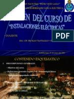 CURSO INSTALACIONES ELECTRICAS
