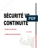 Securite vs Continuite v2