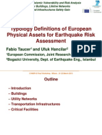 Wp2_Typology Definitions of European Physical Assets for Earthquake Risk Assessment