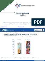 PZOT raport tygodniowy (15/2014)