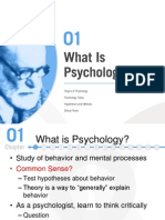 Chapter 1 Notes - Psychology