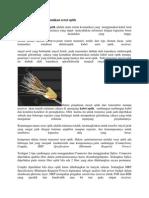 Pengertian Sistem Komunikasi Serat Optik