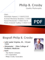Filosofi Manajemen Philip Crosby